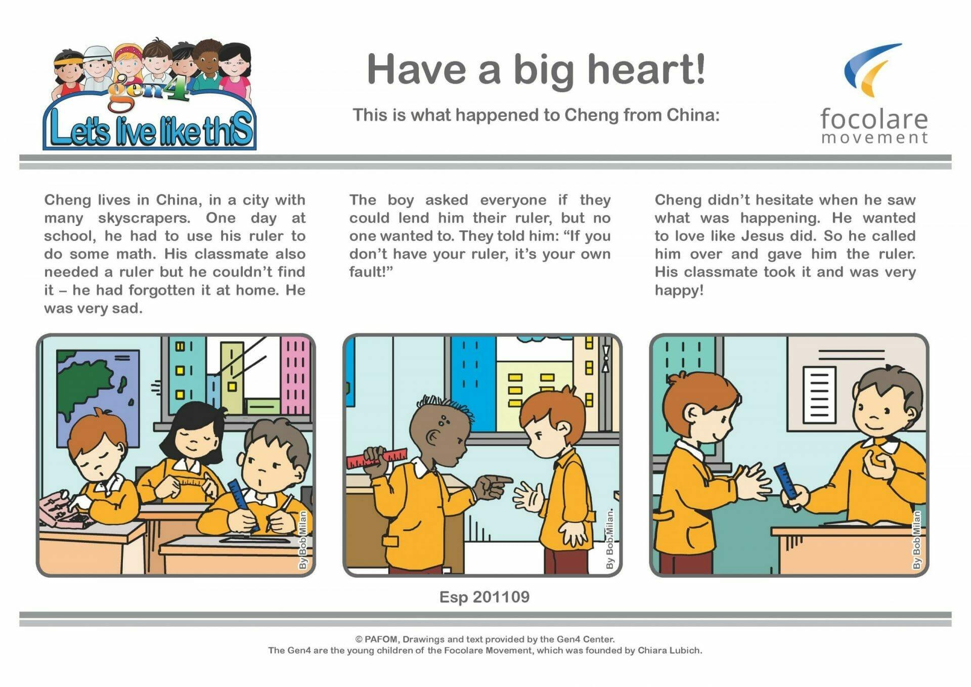 Have a big heart!