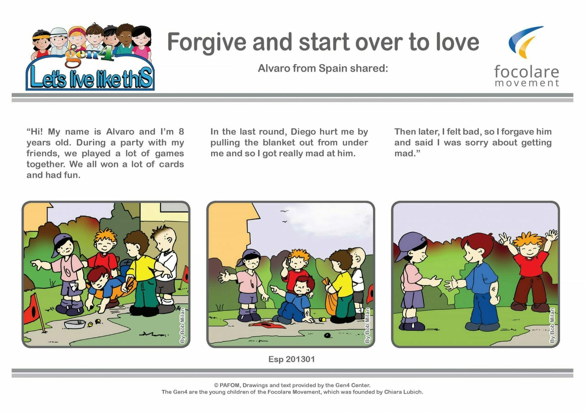 Forgive and start over to love