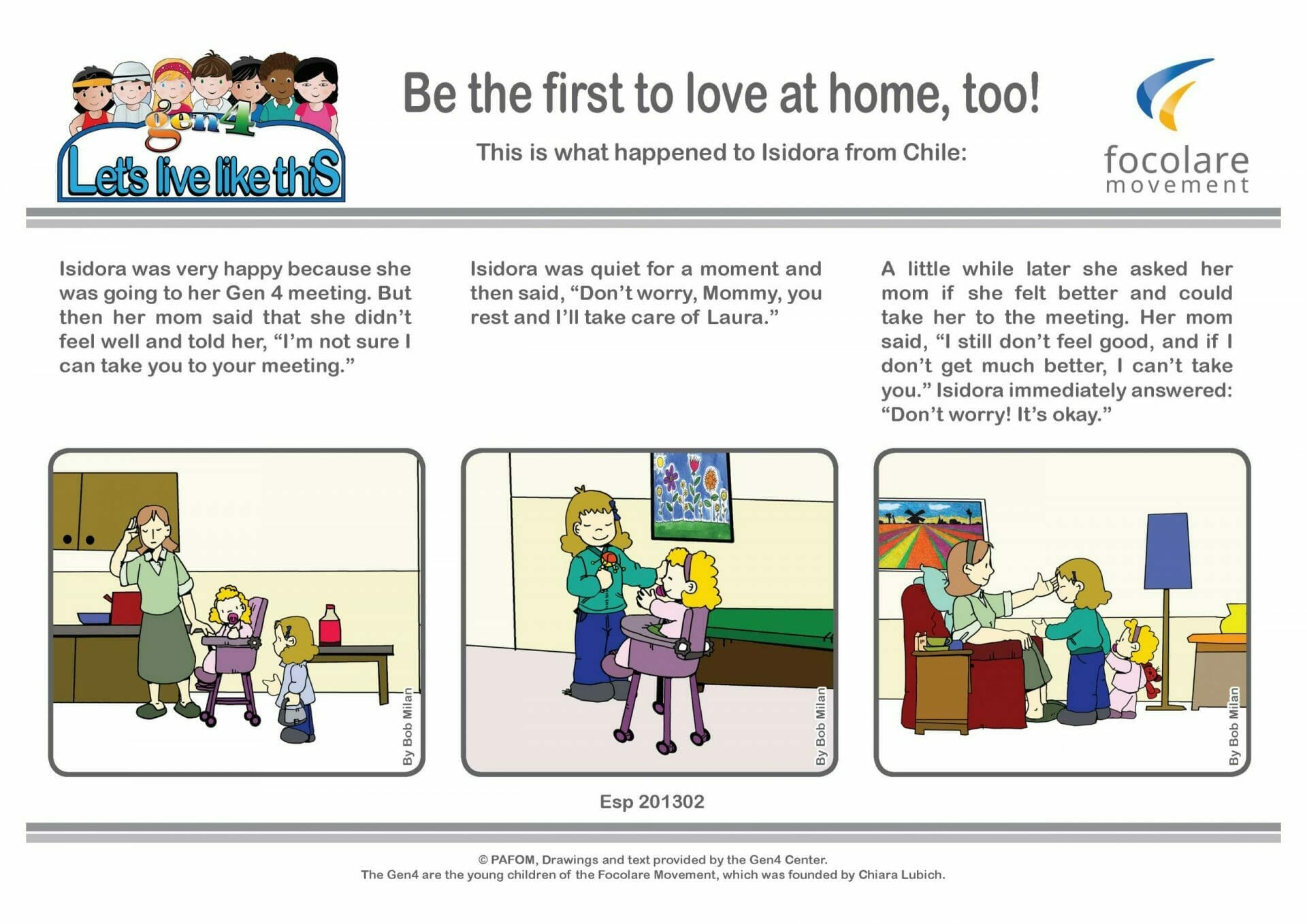 Be the first to love at home, too!