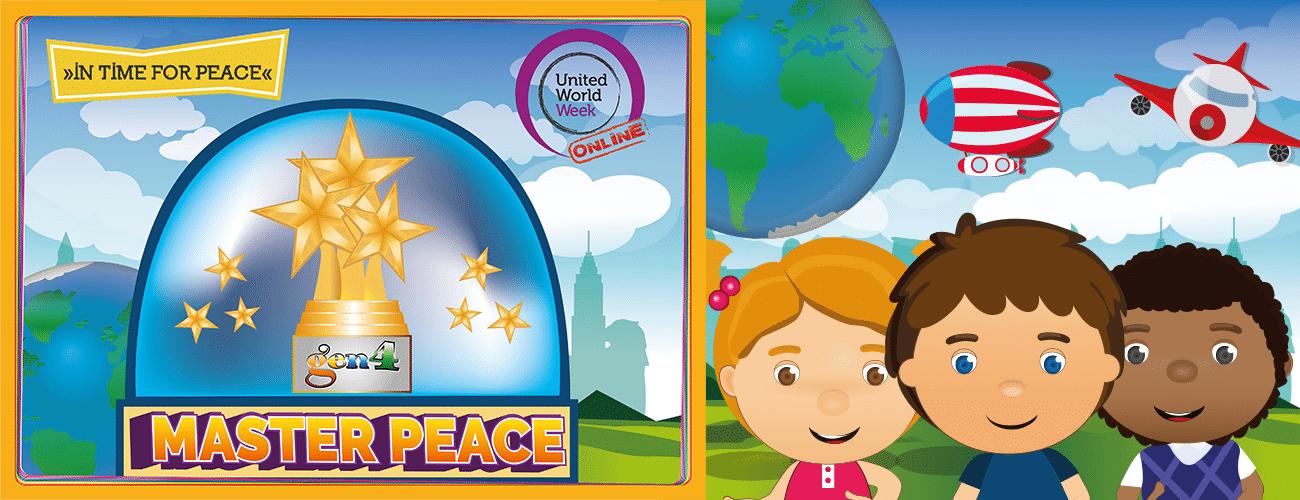 Semana Mundo Unido 2020 / MasterPeace para se tornar super-heróis da paz